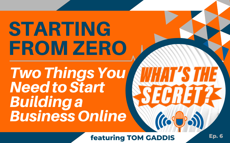 WTS Blog Header-Starting from Zero building business online
