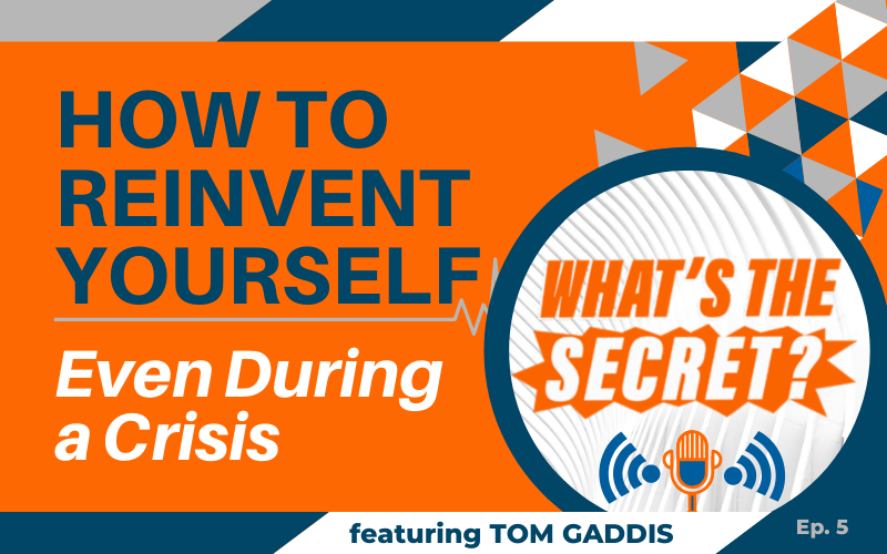 WTS Podcast How To Reinvent Yourself