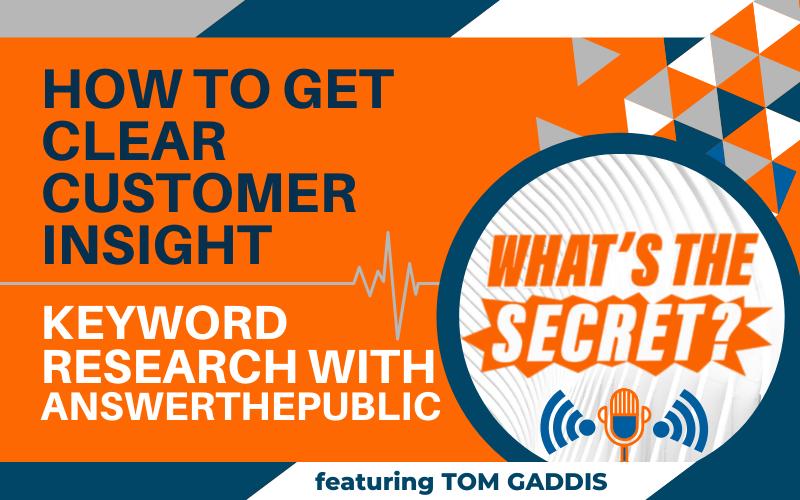 answerthepublic consumer insight WTS