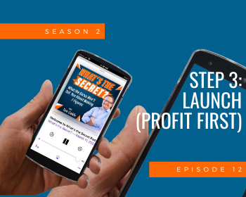 Step 3: Launch (Profit First)